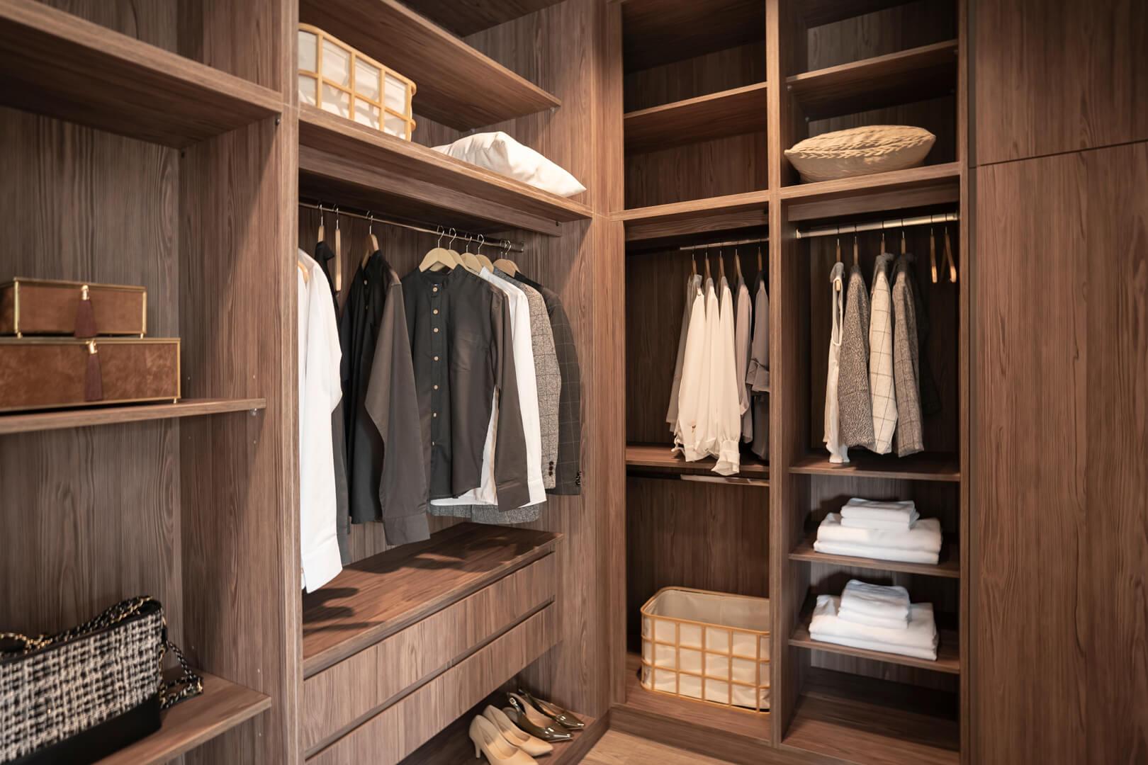 Elegancka garderoba w brązowych kolorach