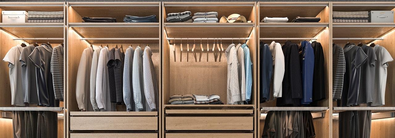 Zalety garderoby na wymiar